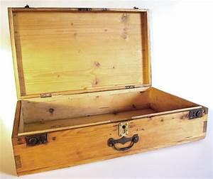 Valise En Bois : valise ancienne en bois ~ Teatrodelosmanantiales.com Idées de Décoration