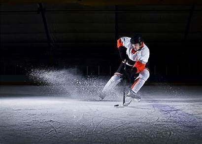 Hockey Ice Player Nhl Puck Taking Male