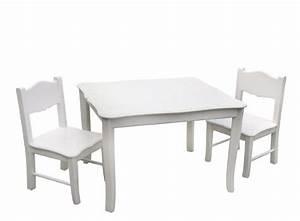 Amazon Tisch Und Stühle : guidecraft tisch mit zwei st hlen f r kinder wei online kaufen bei woonio ~ Bigdaddyawards.com Haus und Dekorationen