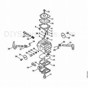 Stihl 019 T Chainsaw  019t  Parts Diagram  Carburetor C1q