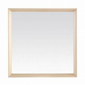 Cadre Bois 50x70 : miroir bois blanchi ~ Teatrodelosmanantiales.com Idées de Décoration