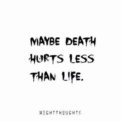 Depression Quotes Sayings Death Depressing Littlenivi Most