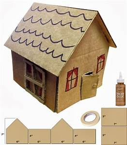 Cardboard Houses  Art Project For Kids And House On Pinterest