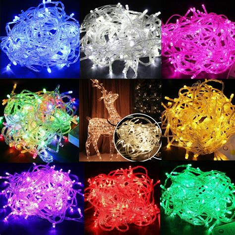 led  christmas tree fairy party lights xmax
