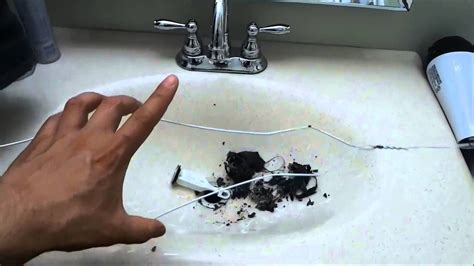 unclog  bathroom sink cleaning  stopper