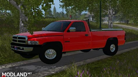 1994 Dodge 3500 Farm Truck V 1.0 Mod Farming Simulator 17