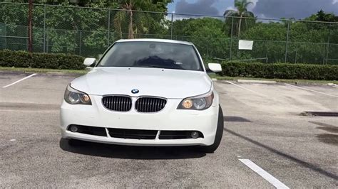 2007 Bmw 530i White, Leather, Sunroof, For Sale In