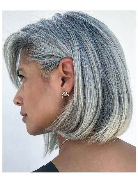 Wow Gorgeous Head Of Hair Silver Grey Hair Long Gray