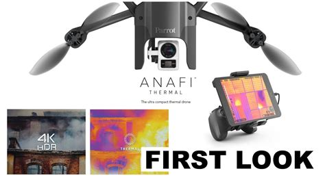 parrot anafi thermal   youtube