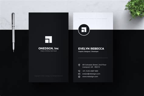 minimalist business card vol     images