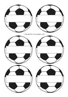 editable soccer ball stickerslabels great   season