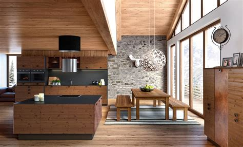 ambiance et style cuisine emejing chalet moderne photos design trends 2017