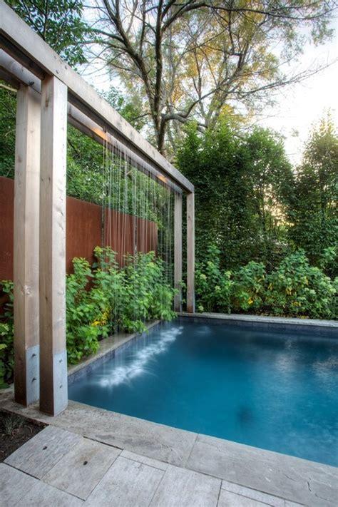 modern waterfall designs  garden landscape