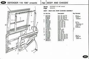 Defender 90 1989 Rh Door Parts Number