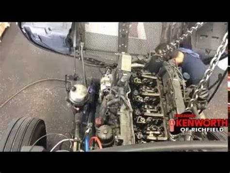 Kenworth Paccar Engine Removal Time Lapse Youtube