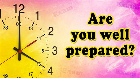 Exam Preparation Tips  How To Prepare Well In Exam