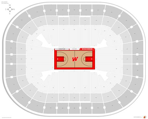 kohl center wisconsin seating guide rateyourseatscom