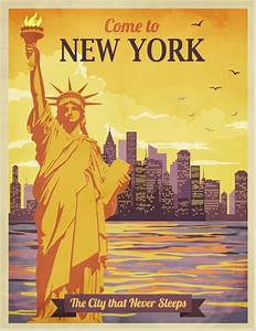 A New York Poster ― a Great Wall Decor Idea for New York
