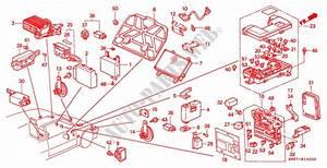 Relay  Horn  Fuse Box For Honda Cars Civic Shuttle Gl 5