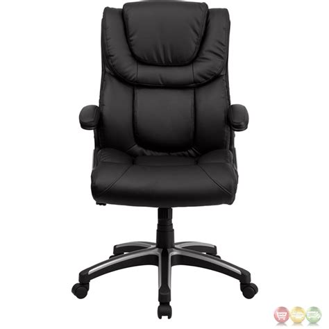 black leather desk chair high back black leather executive office chair bt 9896h gg