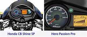 Honda Cb Shine Sp Vs Hero Passion Pro