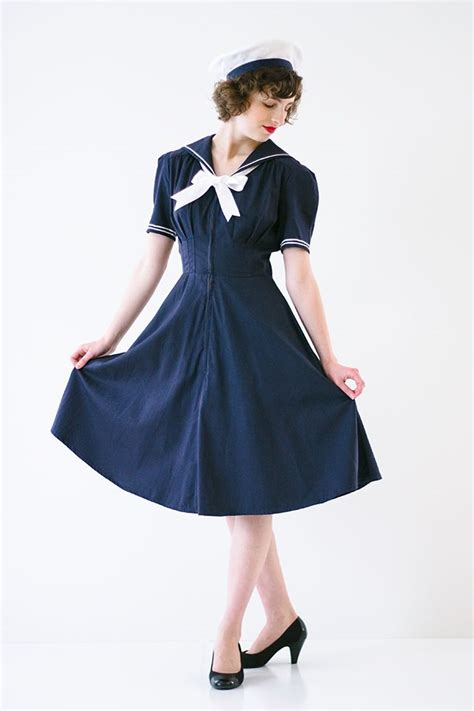 singing our sailor dresses the boyer 1940s sailor costume costumes