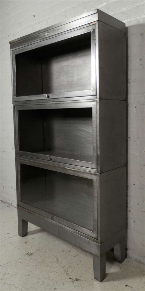 Steel Bookcases by Stackable Metal Barrister Bookcase By Globe Wernicke At