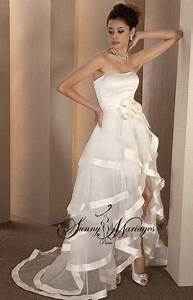 Robe De Mariée Originale : robe mari e bustier courte ~ Nature-et-papiers.com Idées de Décoration
