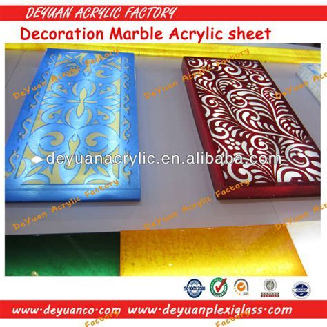 Mica Acrylic Sheet/Decorative Marble Acrylic Sheet/Marble