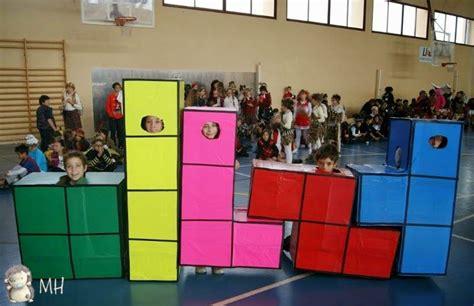 Disfraz de Tetris (con imágenes) Madres hiperactivas