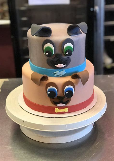 ideas  puppy dog pals birthday cake