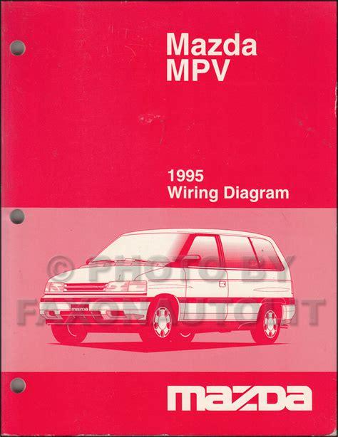 manual repair free 1995 mazda mpv user handbook 1995 mazda mpv repair shop manual original