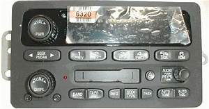 Chevy Oldsmobile Cd Cassette Radio  Oem Factory Delco