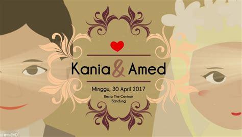 design gambar undangan pernikahan terbaru desain