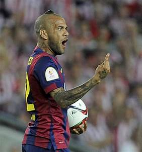 New Dani Alves hairstyle: Buddhist monk hair aka dog poop ...