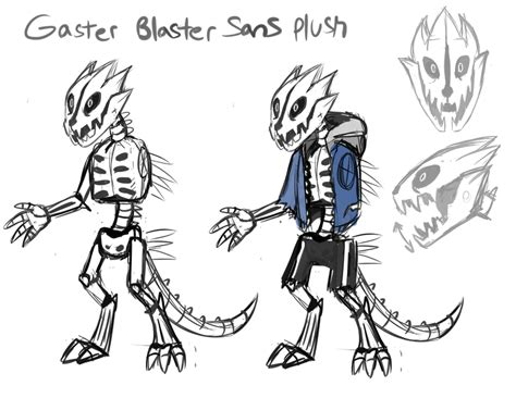 Gaster Blaster Sans Concept Art By Skeleion On Deviantart
