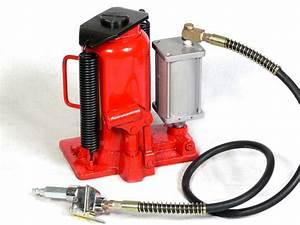 20 Ton Air Hydraulic Adjustable Bottle Jack Auto Repair