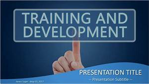 Training and Development PowerPoint Template Free 4911 ...