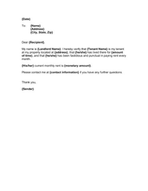 landlord proof  residency template