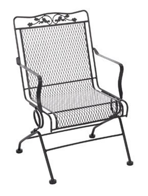 wrought iron patio sets set of 2 meadowcraft glenbrook
