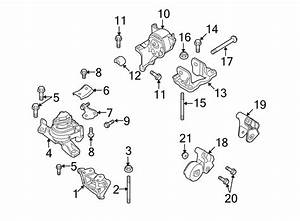 Ford Taurus X Engine Mount  Front  Liter  Bearings