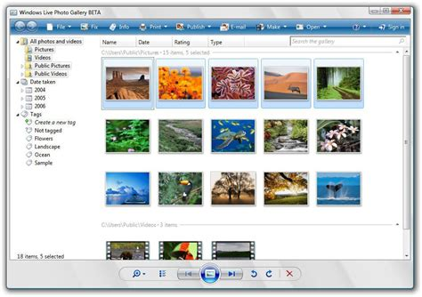New Windows Live Photo Gallery Includes Flickr Uploader