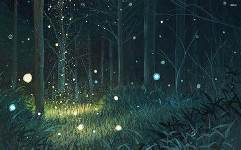 Forest Night Wallpaper » Walldevil