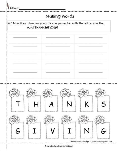 Thanksgiving Lesson Plans, Themes, Printouts, Crafts