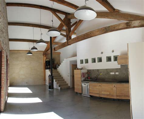 coté maison cuisine week end 19 résine dans la pièce à vivre la grange