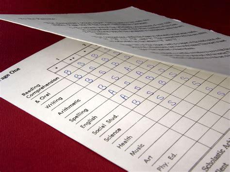 write  homeschool progress report