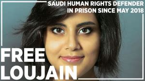 Detained women's rights defender, Loujain AlHathloul, put ...
