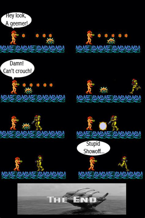 Metroid Comic