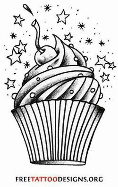 Tattoo Cupcake Designs Tattoos Cherry Girly Candy