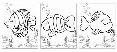 Summer Camp Diy Pages Ocean Theme Colouring